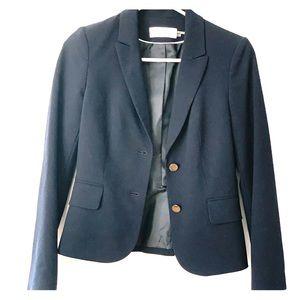 Size 2P navy blazer Calvin Klein. NWT